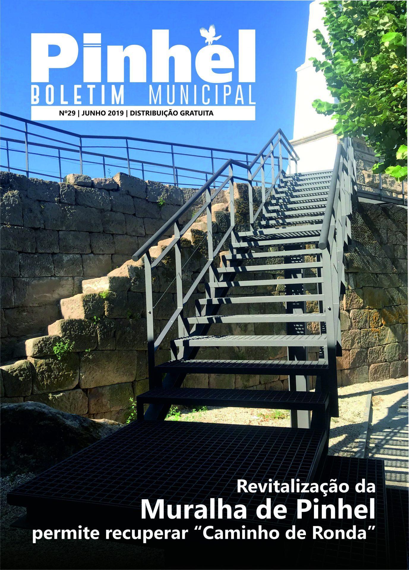 Capa Boletim Municipal Município de Pinhel Nº29 PDF