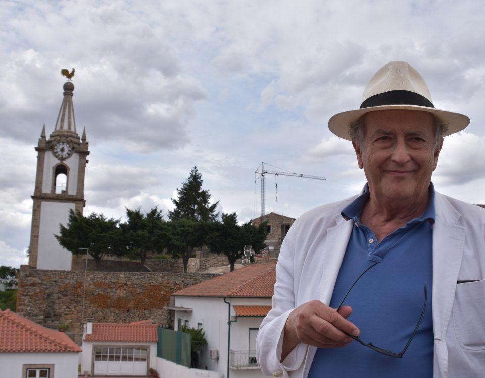 António-Pedro Vasconcelos de visita a Pinhel