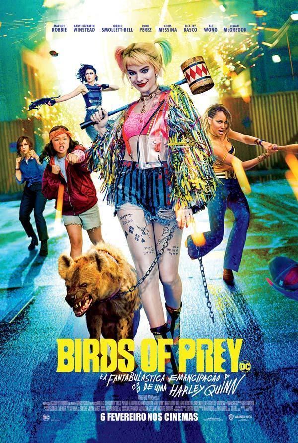 Birds of Prey - e a Fantabulástica Emancipação de Uma Harley Quinn