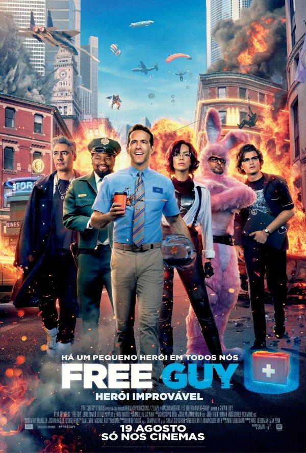 Free Guy - Herói Improvável